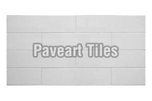 100 X 400mm Snow White Wall Tiles