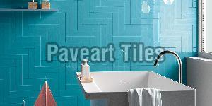 75 X 300mm Tiffany Blue Wall Tiles