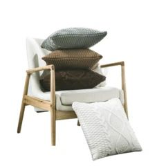Dan Crochet Knitted Cushion with Core