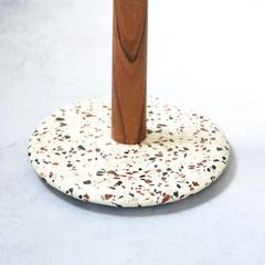Terrazzo Kitchen Towel Holder