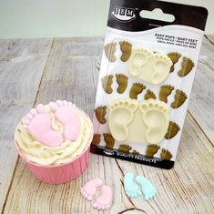 Baby Feet Baby Shower Cutters 2 Piece Set Cake Tools
