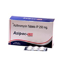 Azipac 250mg Tablets