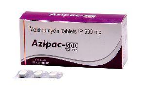 Azipac 500 mg Tablets