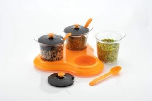Nariya Three Piece Condiment Sets