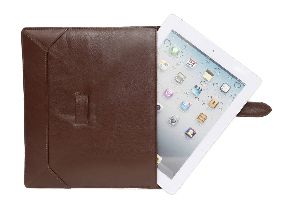 Brown Leather Tablet Case
