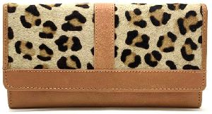 Leather Designer Clutch Purse