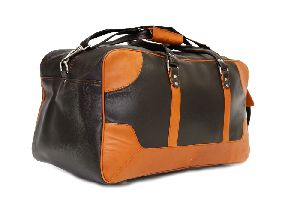 Leather Designer Duffle Bag