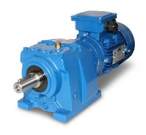 DC Helical Geared Motor