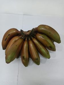 Fresh Red Poovan Banana