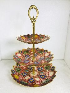 Brass Fruit Stand