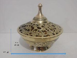 Jali Bowl With Lid