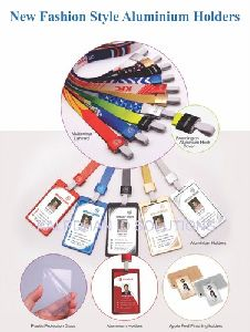 Metallic Aluminium ID Card Holder