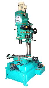 40mm Cap. Geared Milling Cum Drilling Machines with Auto Feed