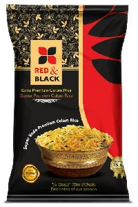 Red & Black Sortex Colom Rice