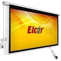 Motorized Projector screen  In Aluminum