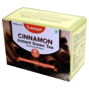 Cinnamon Instant Green Tea