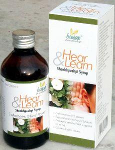 Hear & Learn Shankhpushpi Syrup