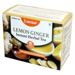 Lemon Ginger Instant Herbal Tea