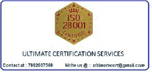 ISO 28001 Certification