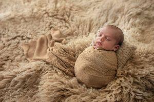 GE-76 Wool Flokati Rugs For New Born Babies