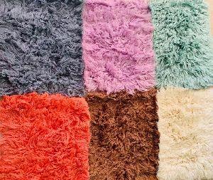GE-80 Wool Flokati Rugs For New Born Babies