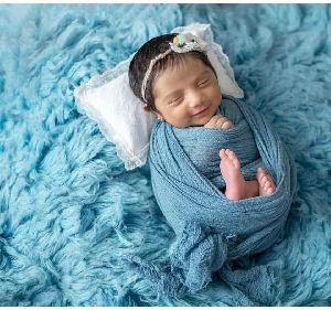 GE-81 Wool Flokati Rugs For New Born Babies