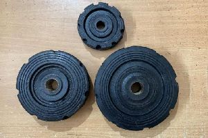 Bush Type Rubber Trolley Wheel
