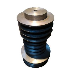 CI Half Solid Type Heavy Motor Pulley