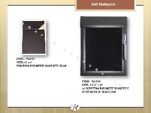 A4 Magnetic Flap Writing Notepad