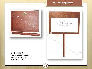 Detachable Paging Board
