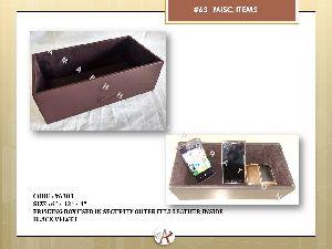 Frisking Leather Box