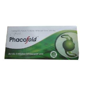 Hydrophilic Acrylic Foldable Intraocular Lens