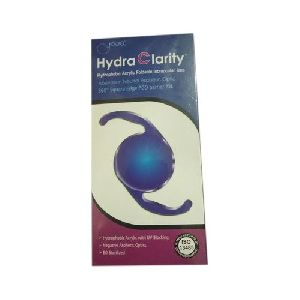 Hydrophobic Acrylic Foldable Intraocular Lens