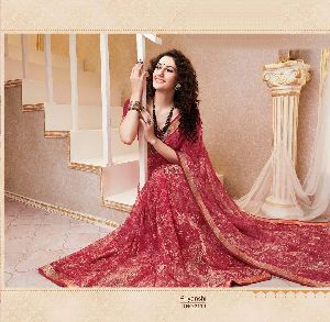 Latest Designer Printed Sarees