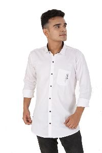 Mens Cotton Satin Shirts