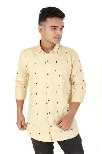 Mens Dot Printed Shirts
