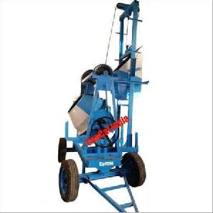 Mobile Hoist 2 Leg Type Concrete Mixer with Hopper