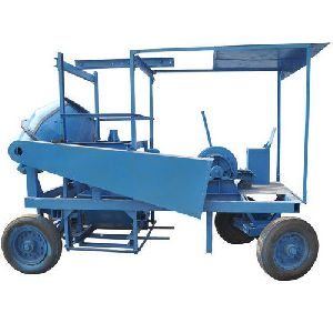 Mobile Hoist 4 Leg Type Concrete Mixer with Hopper