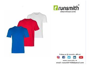 Mens Sports Round Neck T-Shirts