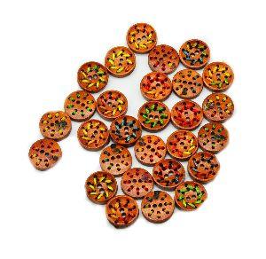 Wooden Designer Buttons