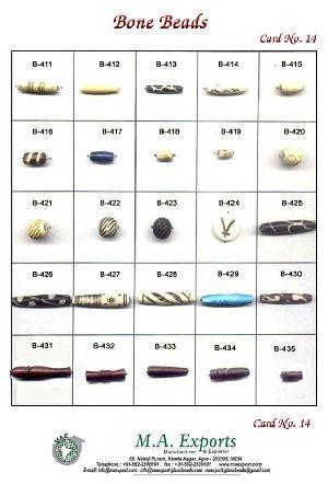 Bone 14 Bone Beads