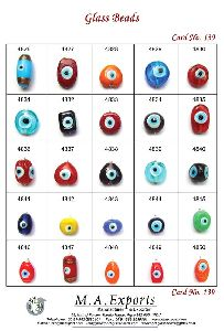 Evil Eye Glass Beads