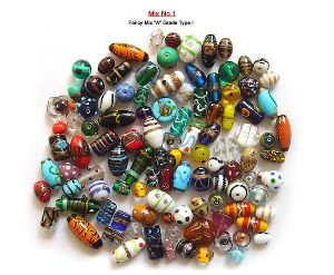 Fancy Mix A Grade Mix Glass Beads