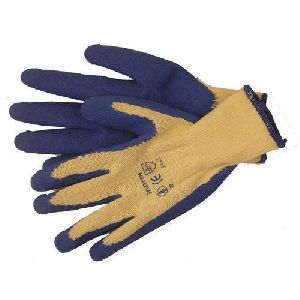 Rubber Glass Handling Gloves