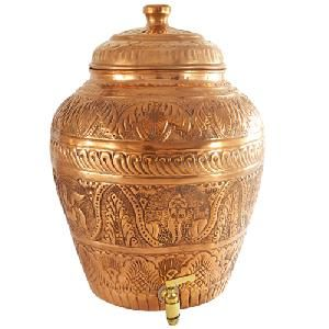 Copper Matka Pot