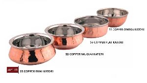 Stainless Steel Copper Bowl