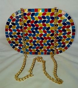 Mosaic Clutch Purse