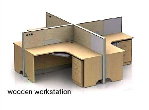 Wooden Workstation