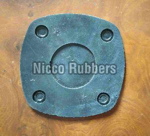 Square Rubber Flanges