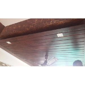PVC Brown Ceiling Panel